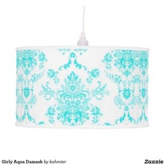 Pretty Aqua Pendant Lamp Ideas 20
