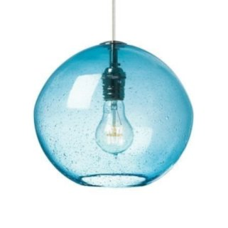 Pretty Aqua Pendant Lamp Ideas 22