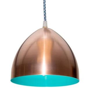 Pretty Aqua Pendant Lamp Ideas 25