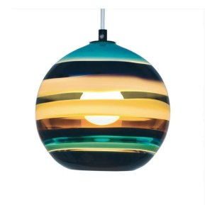 Pretty Aqua Pendant Lamp Ideas 32