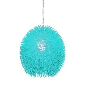 Pretty Aqua Pendant Lamp Ideas 33