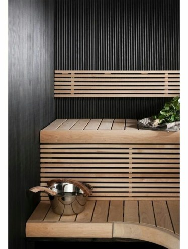 Wonderful Home Sauna Design Ideas 08