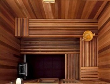 Wonderful Home Sauna Design Ideas 10
