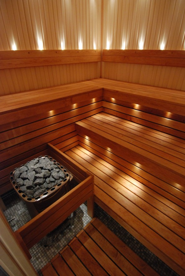 Wonderful Home Sauna Design Ideas 33