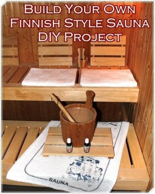Wonderful Home Sauna Design Ideas 40
