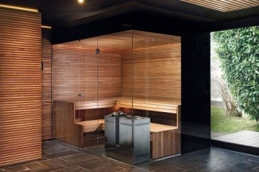 Wonderful Home Sauna Design Ideas 44