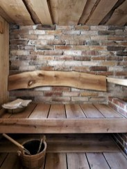 Wonderful Home Sauna Design Ideas 46