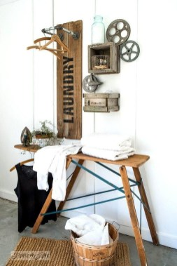 Amazing Diy Laundry Room Makeover With Farmhouse Style Ideas 06