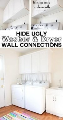 Amazing Diy Laundry Room Makeover With Farmhouse Style Ideas 15