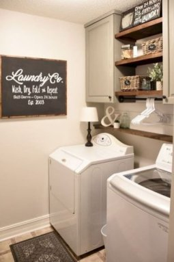 Amazing Diy Laundry Room Makeover With Farmhouse Style Ideas 16