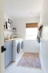 Amazing Diy Laundry Room Makeover With Farmhouse Style Ideas 20