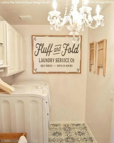 Amazing Diy Laundry Room Makeover With Farmhouse Style Ideas 32