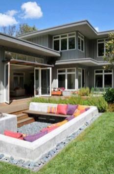 Attractive Sunken Ideas For Backyard Landscape 03