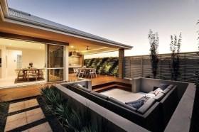 Attractive Sunken Ideas For Backyard Landscape 30