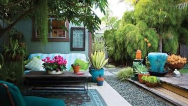 Attractive Sunken Ideas For Backyard Landscape 39