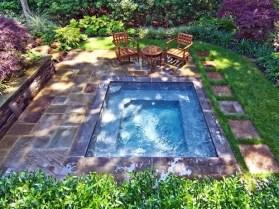 Attractive Sunken Ideas For Backyard Landscape 42