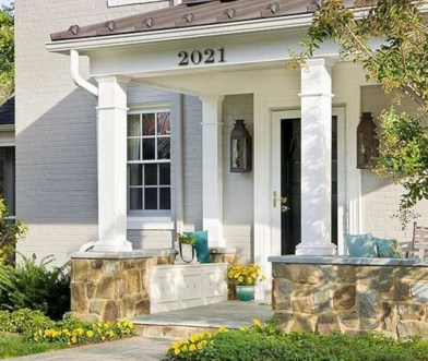 Best Ways To Create A Relaxing Porch Ideas For Big Family 36