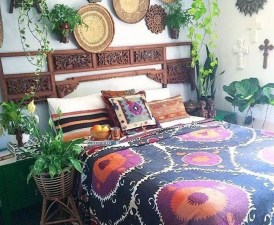 Comfy Boho Bedroom Decor With Attractive Color Ideas 01