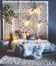 Comfy Boho Bedroom Decor With Attractive Color Ideas 02