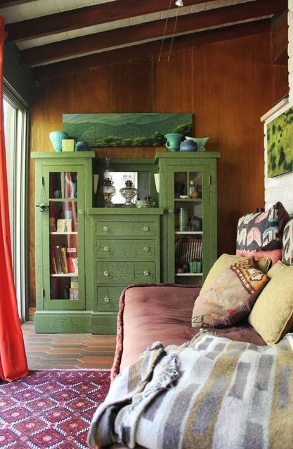 Comfy Boho Bedroom Decor With Attractive Color Ideas 19
