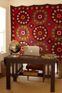 Comfy Boho Bedroom Decor With Attractive Color Ideas 27