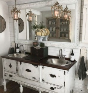 Creative Rustic Bathroom Ideas For Upgrade Your House 30