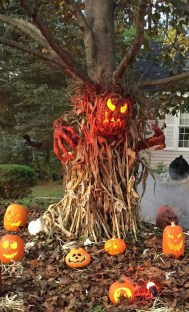 Elegant Diy Halloween Ideas For Outdoor Decoration 09