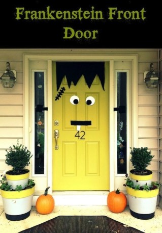 Elegant Diy Halloween Ideas For Outdoor Decoration 14