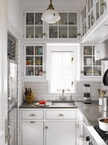 Incredible Kitchen Cabinet Design For Small Spaces 13