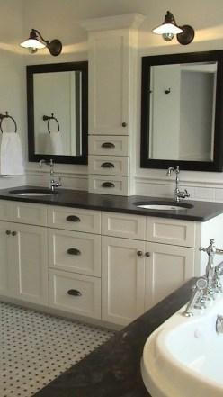 Lovely Modern Farmhouse Design For Bathroom Remodel Ideas 26