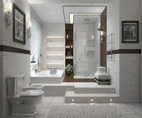Lovely Modern Farmhouse Design For Bathroom Remodel Ideas 44