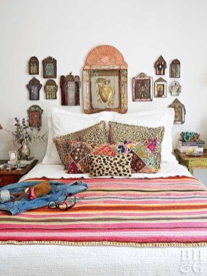 Marvelous Master Bedroom Bohemian Hippie To Inspire Ideas 07