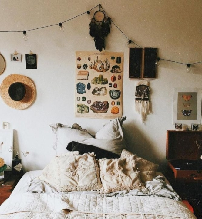 Marvelous Master Bedroom Bohemian Hippie To Inspire Ideas 25
