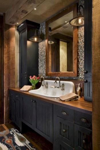 Minimalist Bathroom Winter Decoration Ideas 04