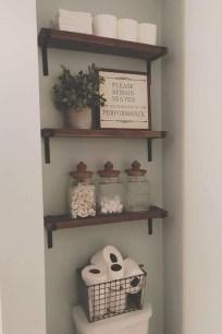 Minimalist Small Bathroom Storage Ideas To Save Space 12