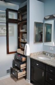 Minimalist Small Bathroom Storage Ideas To Save Space 23