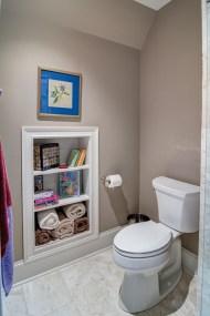 Minimalist Small Bathroom Storage Ideas To Save Space 37