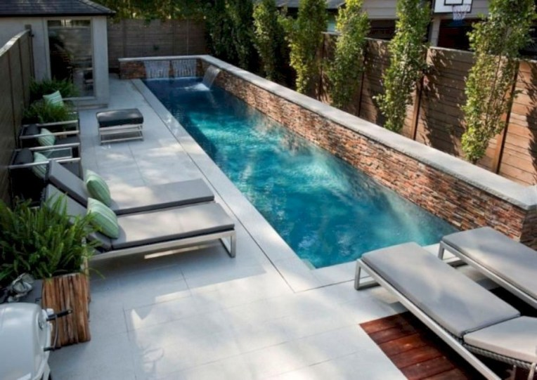 Modern Small Backyard Ideas With Swimming Pool Design 01