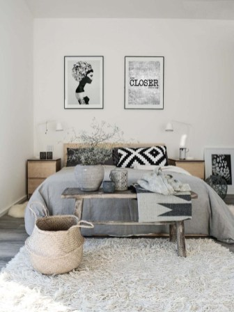 Popular Scandinavian Bedroom Design For Simple Bedroom Ideas 34