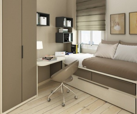 Simple Tiny Bedrooms Design With Huge Style Ideas 35