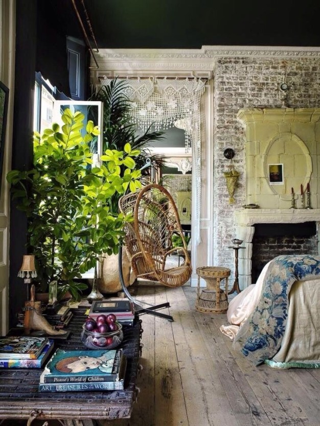 Stunning Bohemian Style Home Decor Ideas 48