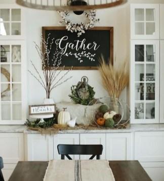 Stylish Fall Home Decor Ideas With Farmhouse Style 08
