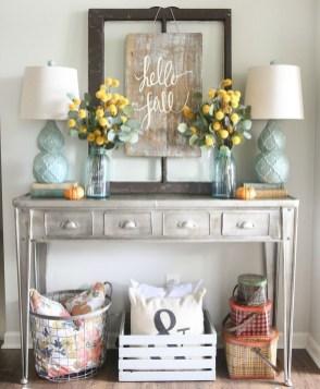 Stylish Fall Home Decor Ideas With Farmhouse Style 09