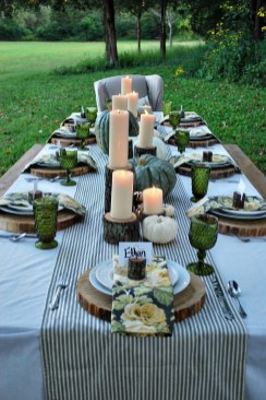 Stylish Thanksgiving Table Ideas 23
