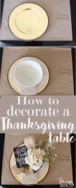 Stylish Thanksgiving Table Ideas 31