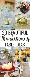 Stylish Thanksgiving Table Ideas 36