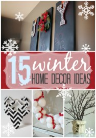 Unique Winter Decoration Ideas Home 04