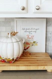 Wonderful Fall Kitchen Design For Home Decor Ideas 27