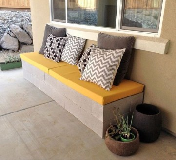 Astonishing Diy Cinder Block Furniture Decor Ideas 11