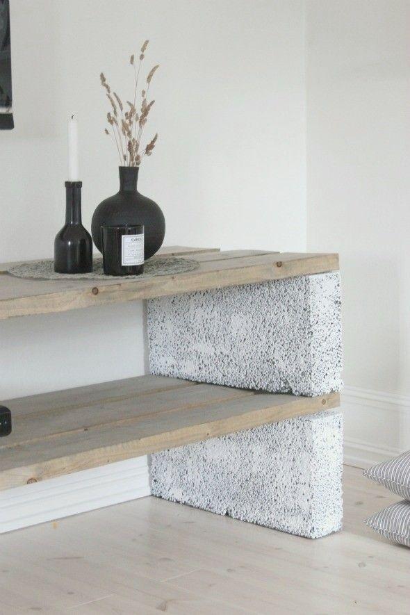 Astonishing Diy Cinder Block Furniture Decor Ideas 19